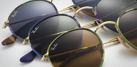Round Camouflage Sunglasses | Ray-Ban Online Store
