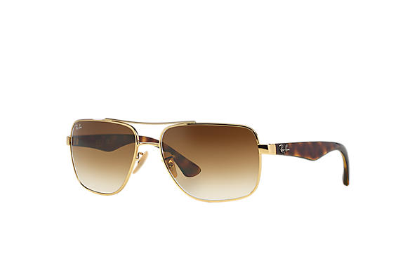 Ray-Ban 0RB3483-RB3483 Gold; Tortoise SUN
