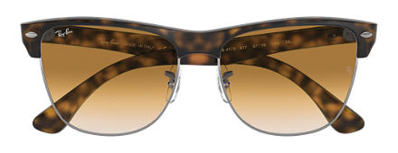 Ray-Ban CLUBMASTER OVERSIZED Tortoise with Light Brown Gradient lens