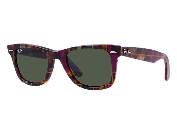 Ray-Ban 0RB2140-ORIGINAL WAYFARER RARE PRINTS Multicolor SUN