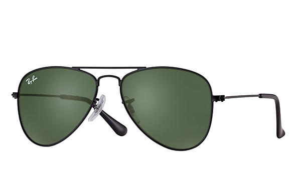 Ray-Ban 0RJ9506S-AVIATOR JUNIOR Noir SUN