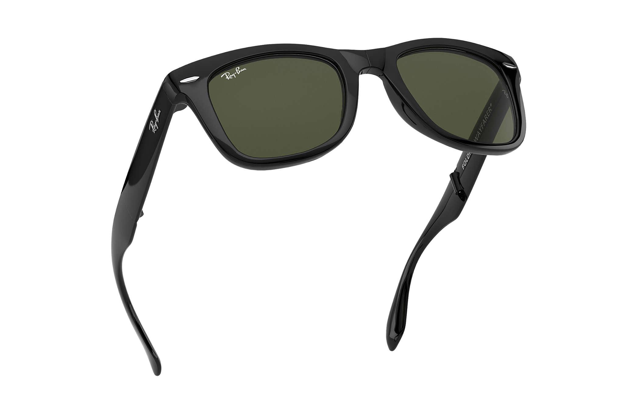 Ray ban sunglasses with price - Ray Ban 0rb4105 Wayfarer Folding Classic Black Sun