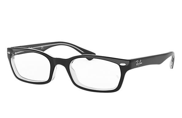 Ray-Ban 0RX5150-RB5150 Nero,Trasparente OPTICAL