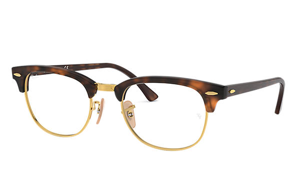 Ray-Ban 0RX5154-Clubmaster Optics Tortoise OPTICAL