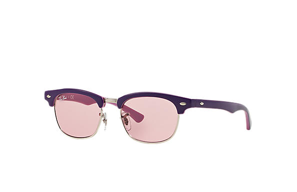 Ray-Ban 0RJ9050S-CLUBMASTER JUNIOR Violet,Pink SUN