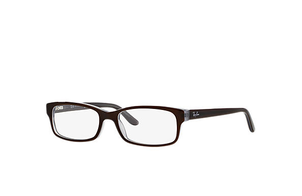 Ray-Ban 0RX5187-RB5187 Brown,Light Blue OPTICAL