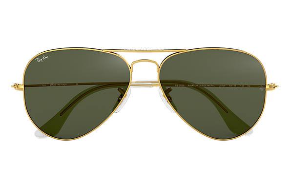 Ray Ban Classic Aviator Gold Green