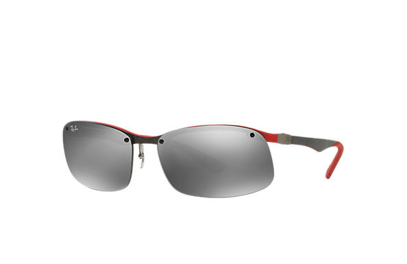 Ray-Ban 0RB8314-RB8314 Grey,Red SUN