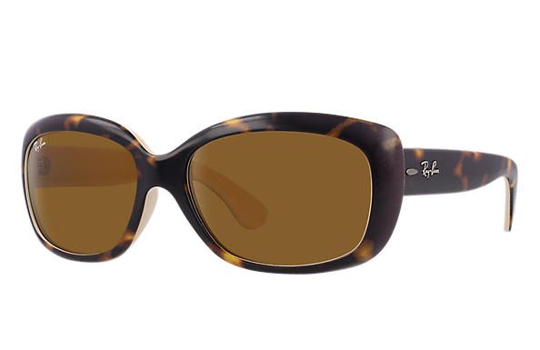 Ray-Ban 0RB4101-JACKIE OHH Tortoise,Bronze-Copper SUN