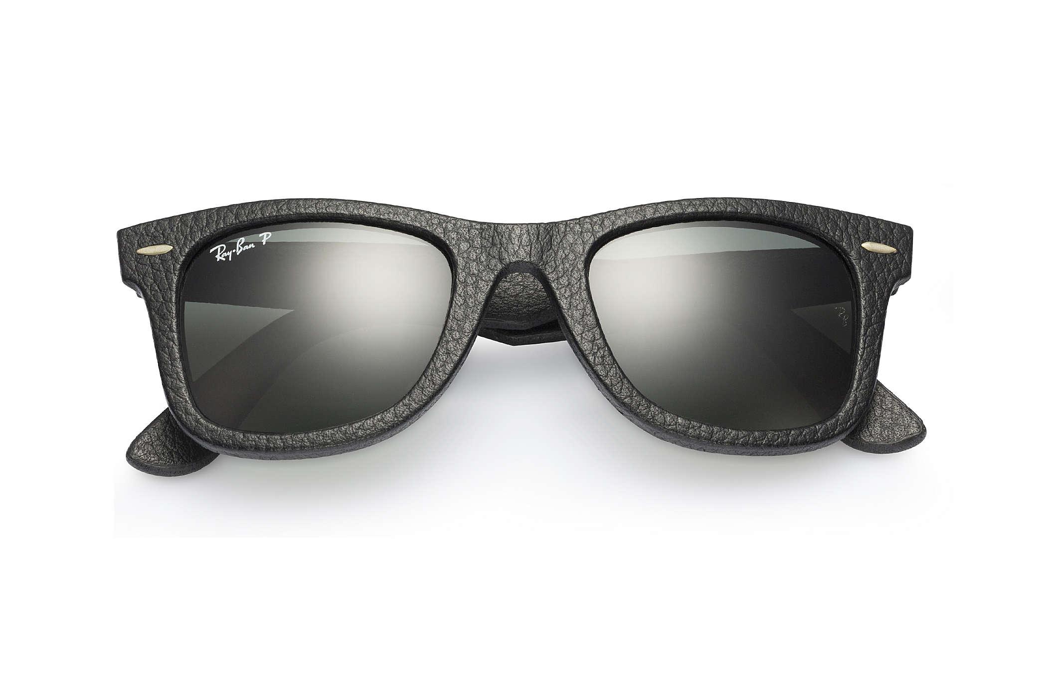 Ray ban sunglasses with price - Ray Ban 0rb2140qm Wayfarer Leather Black Sun
