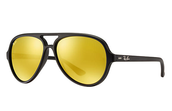 Ray-Ban 0RB4125-CATS 5000 FLASH LENSES Preto SUN