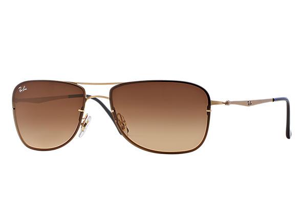 ... sunglasses Ray-Ban 0RB8054-RB8054 Gold SUN ... 5fe4cf6ee6