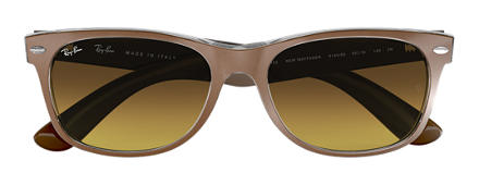 Ray-Ban NEW WAYFARER COLOR MIX Brown with Brown Gradient lens