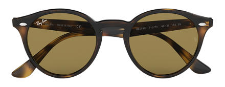 Ray-Ban RB2180 Tortoise with Brown Classic B-15 lens
