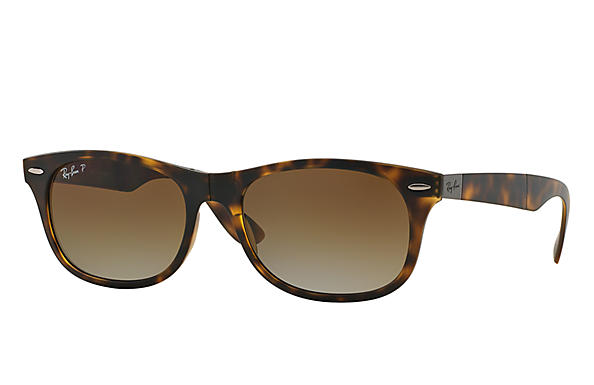 Ray-Ban 0RB4223-New Wayfarer Folding Liteforce Tortoise SUN