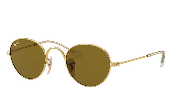 Ray-Ban 0RJ9537S-ROUND JUNIOR Gold SUN