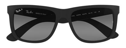 Ray-Ban JUSTIN CLASSIC Black with Grey Gradient lens