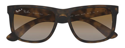 Ray-Ban JUSTIN CLASSIC Tortoise with Brown Gradient lens
