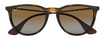 Ray-Ban ERIKA CLASSIC Tortoise with Brown Gradient lens