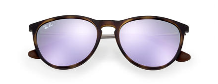 Ray-Ban IZZY Tortoise with Lilac Mirror lens