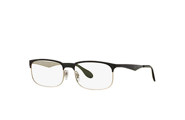 Ray-Ban 0RX6361-RB6361 Nero,Argento OPTICAL