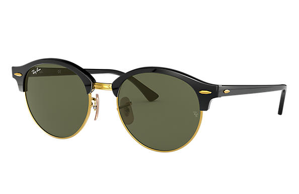 Ray-Ban 0RB4246-CLUBROUND CLASSIC Black SUN