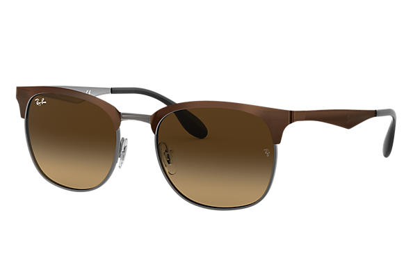 Ray-Ban 0RB3538-RB3538 Brown,Gunmetal SUN