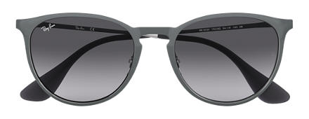 Ray-Ban ERIKA METAL Grey with Grey Gradient lens