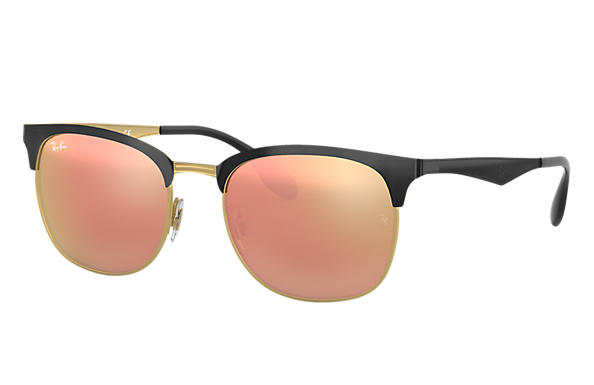 Ray-Ban 0RB3538-RB3538 Negro,Oro SUN