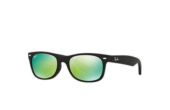 Ray-Ban 0RB2132F-NEW WAYFARER FLASH 黑色 SUN