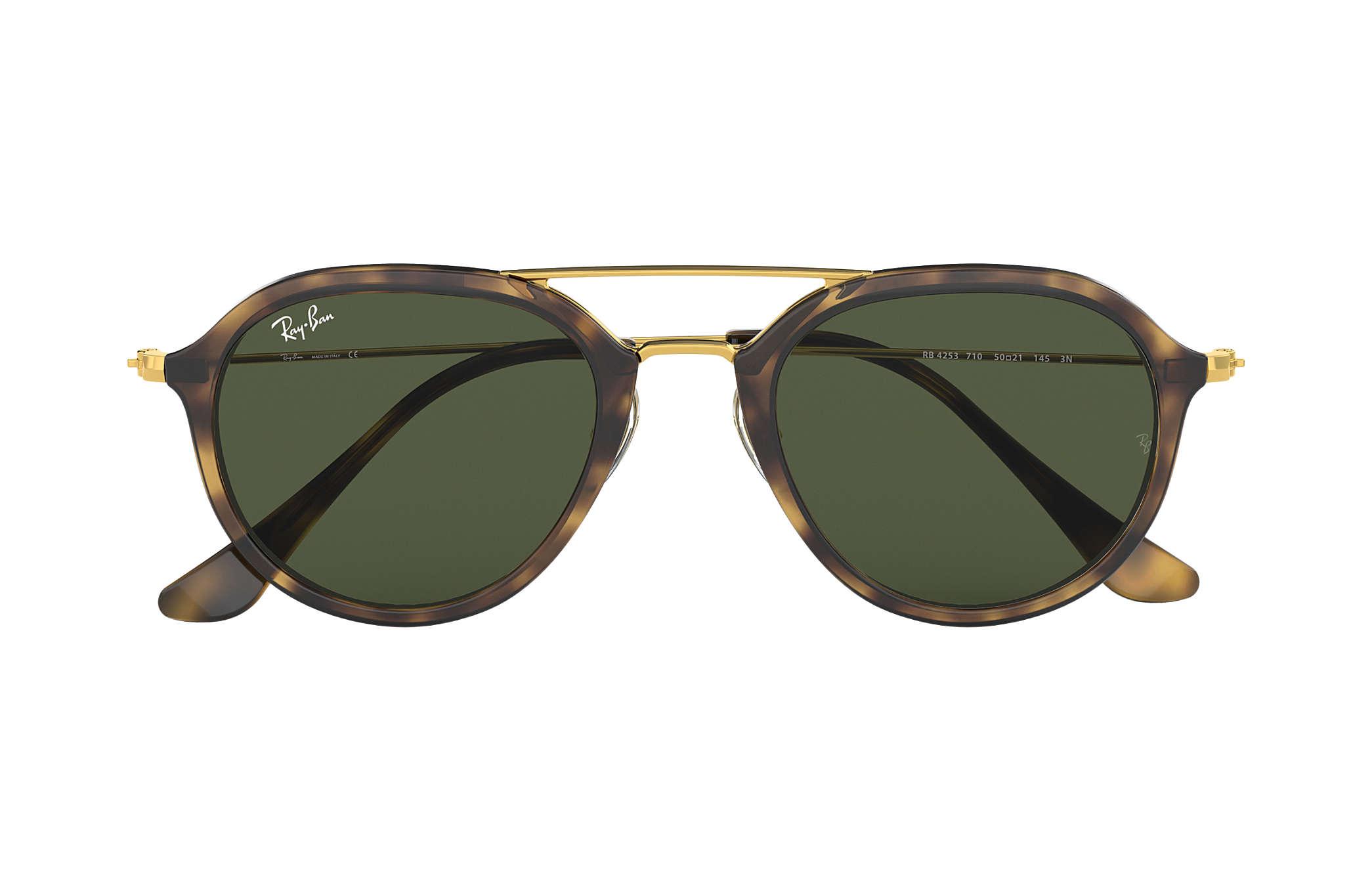 2c800f7327 ... highstreet sunglasses  ray ban 0rb4253 rb4253 tortoise gold sun ...