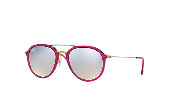 Ray-Ban 0RB4253-RB4253 Violet-Rouge; Bronze-cuivre SUN