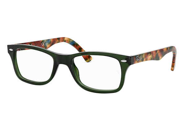 Ray-Ban 0RX5228-RB5228 Verde; Carey OPTICAL