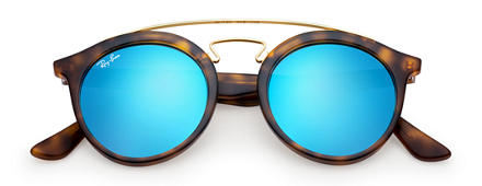 Ray-Ban RB4256 GATSBY I Tortoise with Blue Mirror lens