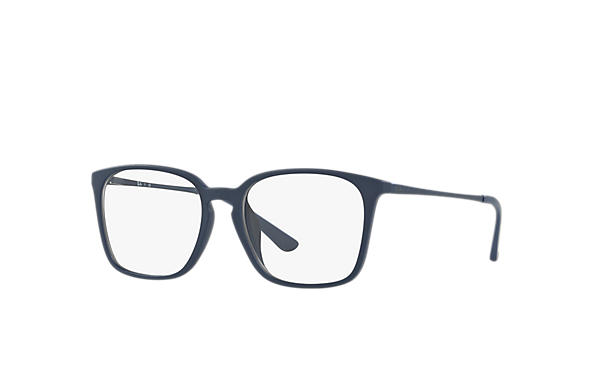 Ray-Ban 0RX7103D-RB7103D Black,Blue; Blue OPTICAL