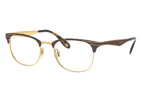Ray-Ban 0RX6346-RB6346 Havane,Or OPTICAL