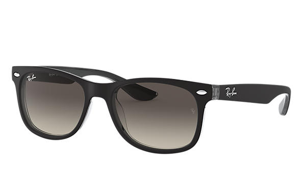 Ray-Ban 0RJ9052S-NEW WAYFARER JUNIOR Schwarz,Transparent SUN