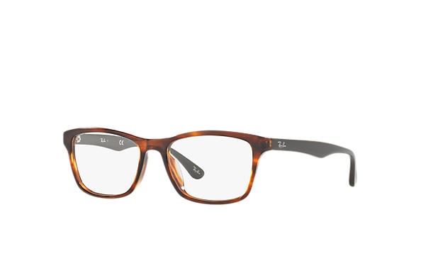 Ray-Ban 0RX5279F-RB5279F Tortoise; Grey OPTICAL