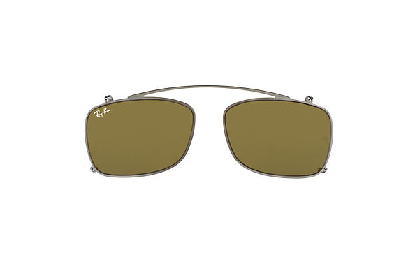 Ray-Ban 0RX5228C-RB5228 Clip-on Staalgrijs CASE