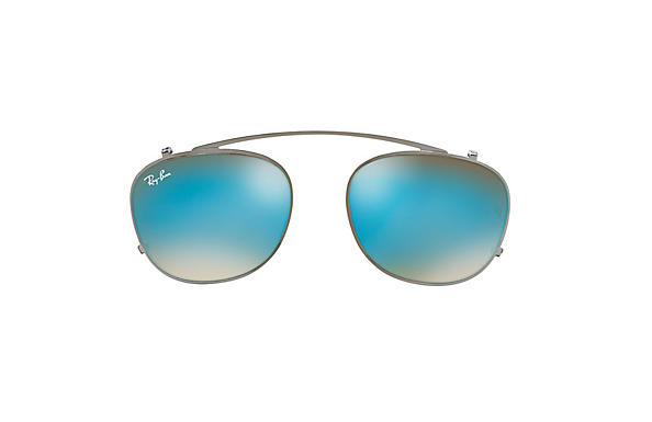 Ray-Ban 0RX6317C-RB6317 Clip-on 金屬色 CASE