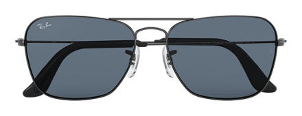 Ray-Ban CARAVAN @Collection Gunmetal with Blue/Gray Classic lens