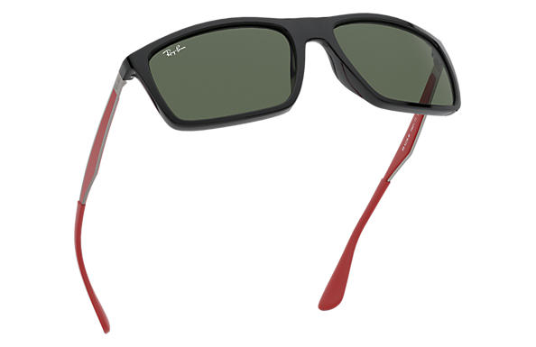 11d6ad9e94 ... ray ban 0rb4228m rb4228m scuderia ferrari collection black gunmetalred  sun ...