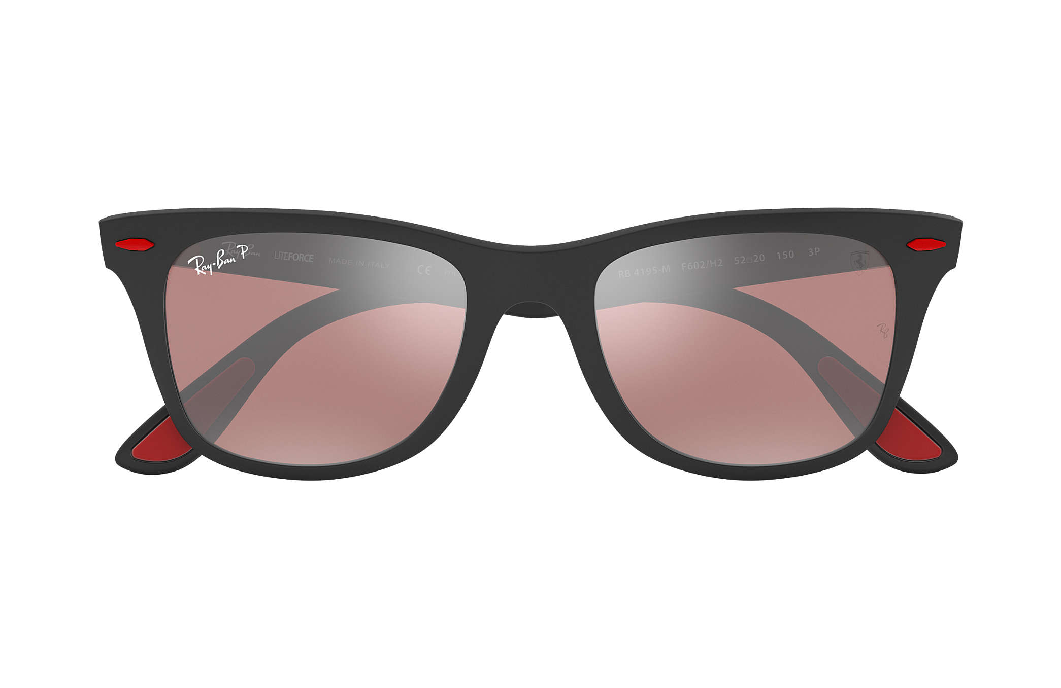 f3abac9232 ... ray ban 0rb4195m rb4195m scuderia ferrari collection black sun ...
