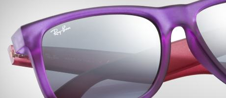 Custom Ray-Ban Justin two colors