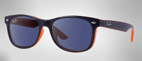 Custom Ray-Ban Wayfarer Junior lateral view