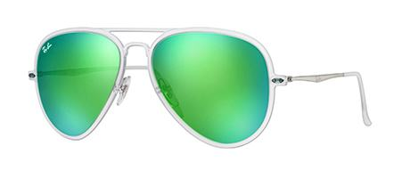 Custom Ray-Ban Aviator Light-ray lateral view