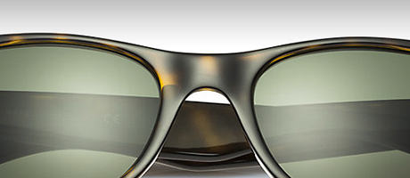 Custom Ray-Ban New Wayfarer bridge