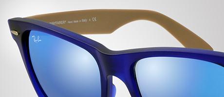 Custom Ray-Ban Wayfarer frame and lens