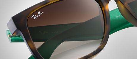 Custom Ray-Ban Justin lens and frame