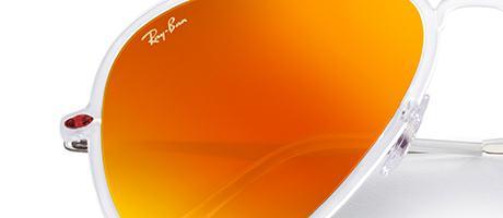 Custom Ray-Ban Aviator Light-ray frame and lens